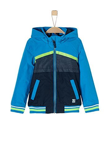 s.Oliver RED LABEL Junior Jungen Funktionale Windjacke blue 134 (Jungen Red Label)