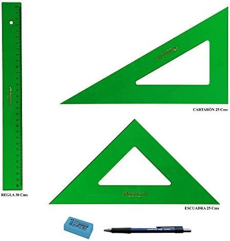 Faber Castell Técnico Lot Règle 813-30 cm    équerre 566-25 cm  équerre 666-25 cm B0744KH4RY | Le Prix De Marché  ebf02c