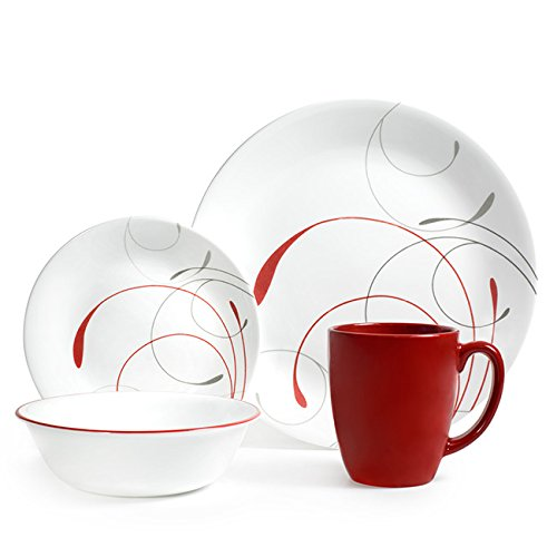 corelle-splendor-chip-e-resistente-a-sbeccature-vetro-rosso-grigio-16-pezzi