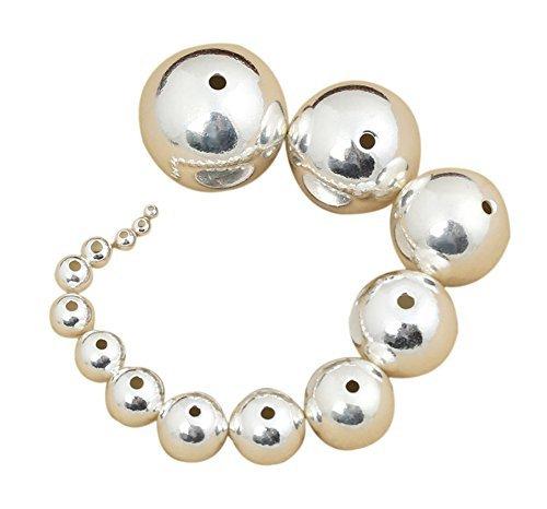 Qingsun Lose Perlen Rhinestone Perlen Metall- Perle DIY -