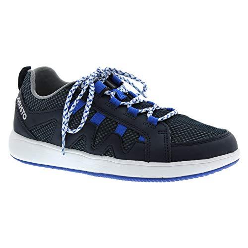 Musto Nautic Speed Sailing Yachting und Dinghy Schuhe True Navy - Unisex - Leichtgewicht. Atmungsaktiv True Navy Schuhe