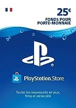 Carte PSN 25 EUR - Compte français | Code PSN à télécharger