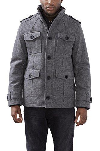 ESPRIT Herren Jacke 106EE2G012, Grau (Light Grey 040), X-Large (XL) Preisvergleich