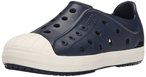 crocs-bumper-toe-unisex-kids-trainers-navy-oyster-13-uk-child-30-31-eu