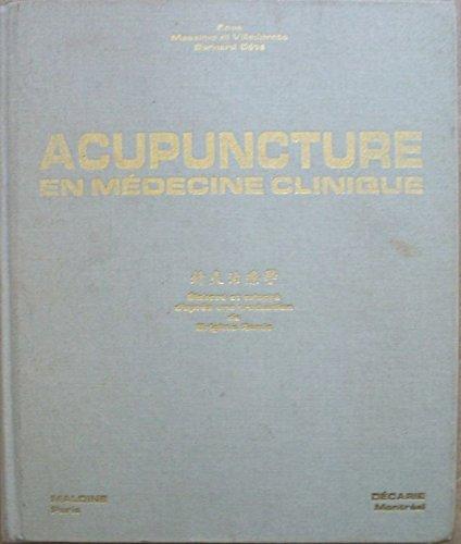 Acupuncture en médecine clinique