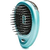 1 cepillo eléctrico iónico para el pelo, mini cepillo de masaje para el cuidado del