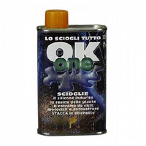OK ONE sciogli rimuovi colla silicone resine etichette
