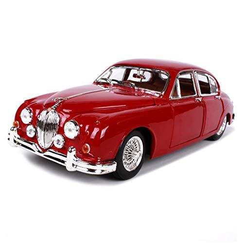 MKJYDM Auto Modell Auto 1:18 Jaguar E Cabriolet 1961 Simulation Legierung druckguss Spielzeug schmuck Sportwagen Sammlung schmuck 25x10x8 cm Auto Model