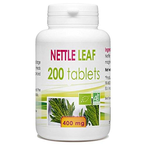 Complément alimentaire Ortie Bio - 200 comprimés