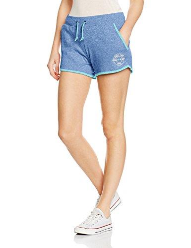 Intimuse Damen Sport Shorts, Blau (Hellblau Melange 083), 38 (Herstellergröße: M)