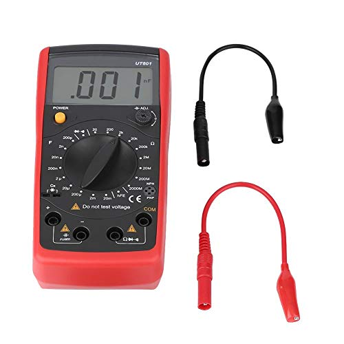 UNI-T Professional Kapazitätsmessgeräte Kapazitätswiderstandsmessgeräte Ohmmeter Widerstand(UT601)