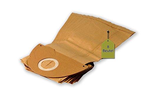 Staubsaugerbeutel passend für Kärcher 4000 Plus / TE (K) | 8 Staubbeutel | ähnlich wie Original-Beutel: 6.904-167