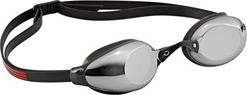 adidas Persistar Spiegel Schwimmen Gläser, Persistar Mirror, Black/Metallic Silver/Hi-Res Red