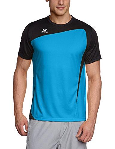 erima Herren T-Shirt Club 1900, curacao/schwarz, S, 108337