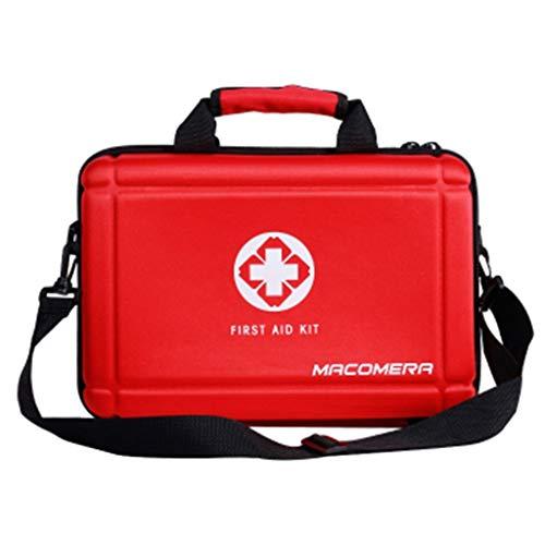 HMMSP Notfalltasche Erste-Hilfe-Set for tragbare Fahrzeuge Outdoor Survival Kit wasserdichte Medizintasche / 36 x 24 x 13,5 cm