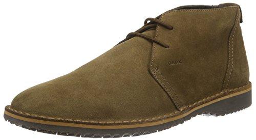 Geox U Zal C, Stivali Desert Boots Uomo, Braun (BROWNC0013), 44 EU