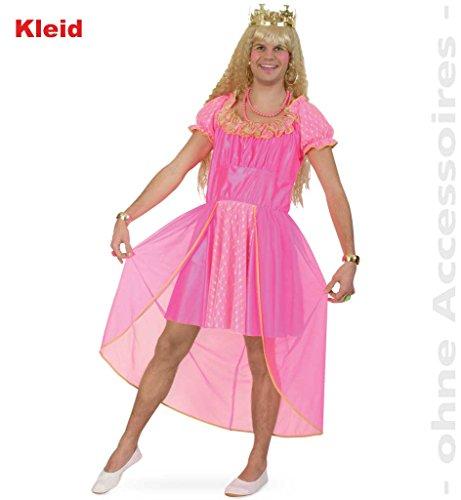 FASCHING 10876 Kostüm Pink Doll Kleid Männer Prinzessin NEU/OVP: Größe: M