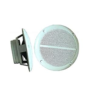 Ett Außen-Lautsprecher Outdoor Boxen Wetterfest PAAR 80W Lautsprecher M-5