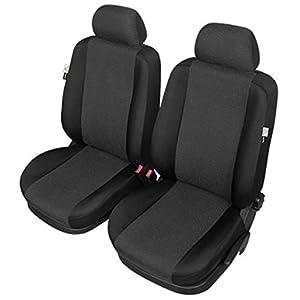 ZentimeX Z977160 Sitzbezüge Vordersitze Stoff schwarz Airbag-Kompatibel