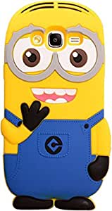 Novo Style Funny Double Cute 3D Silicon Case Cell Phone Back Cover Case for SamsungGalaxyj5 2016