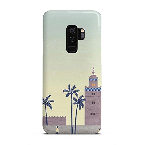 artboxONE Samsung Galaxy S9 Plus Premium-Case Handyhülle Marrakesch von Katinka Reinke