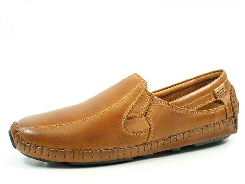 Pikolinos 09z-5958 Jerez Schuhe Herren Slipper Halbschuhe Mokassin Braun (Brandy)