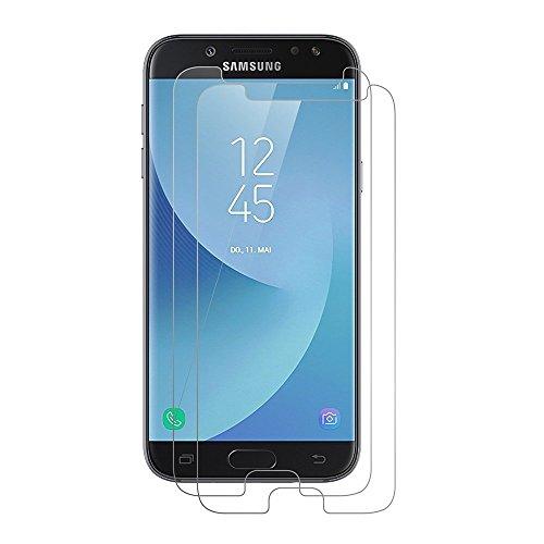 FashionAA Panzerglas für Samsung Galaxy J5 2017, [2 Stück] Schutzfolie für J5 2017-0.25mm, 9H Härte, Anti-Kratzen, Anti-Öl, Anti-Bläschen, Panzerglasfolie Displayschutzfolie für J5 - 2 Nicht Samsung Bildschirm