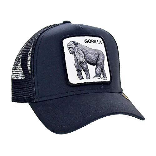 Goorin Bros. Baseball Cap für Damen und Herren, King of The Jungle', Black/Schwarz - Einheitsgröße