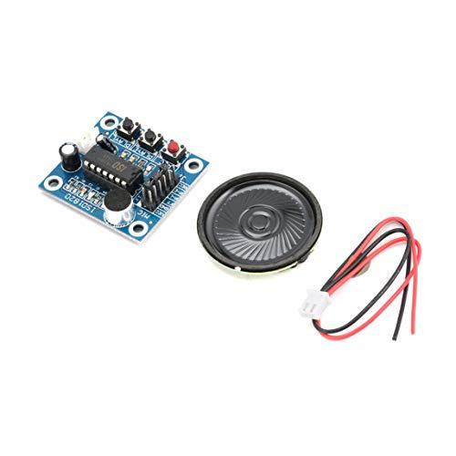Footprintes ISD1820 10s Mic Voice Sound Playback Board Recording Recorder Module Kit Microphone Audio Speaker Loudspeaker for Arduino