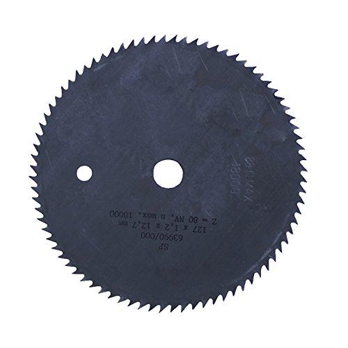 Connex COM361271 Kreissägeblatt fein, 80 Zähne Chrom Vanadium, 127 x 12.75 mm