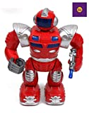 Funbee Walking Robot with LED Lights and Music Toy Robots for Kids