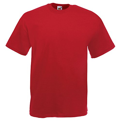 Fruit of the Loom Valueweight tee Brick Red