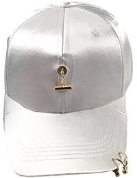 Baseball Cap,Herren Damen Freizeit Schwarz Kappe Trendy Baseball Cap Mädchen Jungen Basecap Schirmmütze Golf Sport Outdoor Verstellbar Hats
