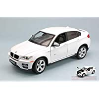 NEW RASTAR RAT41500W BMW X6 2010 White 1:24 MODELLINO Die Cast Model