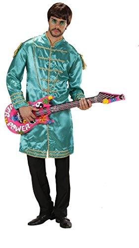 Kostüm Kostüm Erwachsene Musiker, 60er Jahre, Band * 19923., mehrfarbig XL (60-musiker-kostüm)