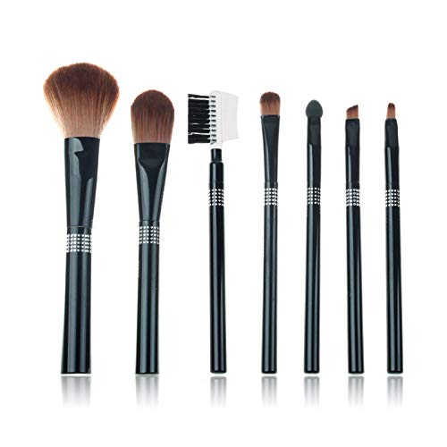 Clearance Sale! Makeup Brushes Set LEEDY Exquisite 7Pcs Professional Face Eye Shadow Eyeliner Foundation Blush Lip Make up Brush Powder Liquid Cream Cosmetics Blending Brush Tool Kits