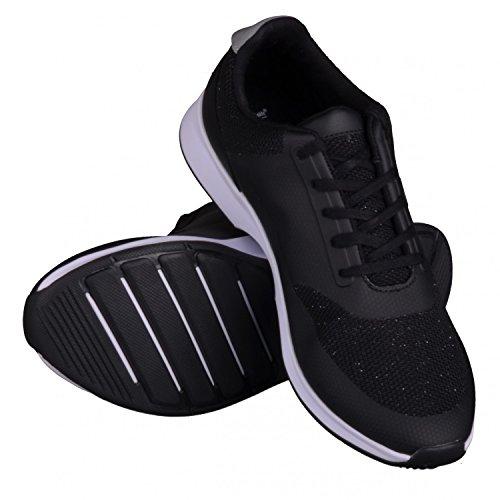 Lacoste Chaumont Lace noir, baskets mode femme Noir