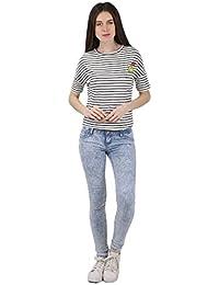 Miss Coquines T-Shirt Rayé - Femme - Tops et Débardeurs - T-Shirts