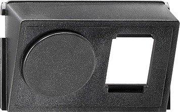 Gira 005300 Einschub-Datenhaube für Modular Jack/Western Technik 2-fach