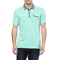 e4dcdc16151279 58%off Ajile by Pantaloons Mens Printed Regular Fit T-Shirt  (110024268 Black Medium)