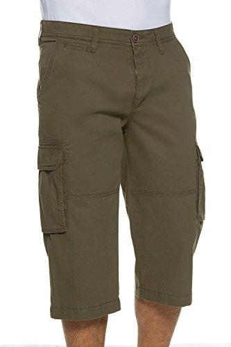 JP 1880 Homme Grandes tailles Pantalon cargo 3/4 698273 Kaki