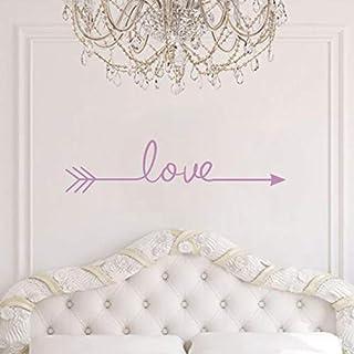 iHENGH Love Arrow Decal Living Room Bedroom Vinyl Carving Wall Decal Sticker