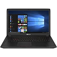 "Asus FX753VD-GC193T Notebook, 17.3"", Intel Core i7-7700HQ, SDD da 256 GB e HDD da 1 TB, 16 GB RAM, nVidia GeForce GTX 1050, Nero"