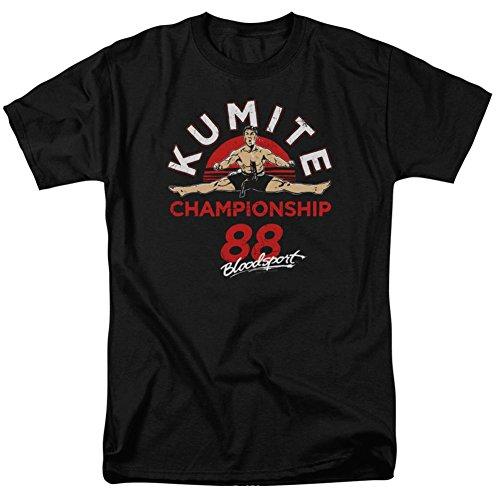 Bloodsport - T-shirt - Manches Courtes - Opaque - Homme noir noir - noir - M