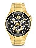 Bulova Reloj Analógico para Hombre de Automático con Correa en Acero Inoxidable 98A178