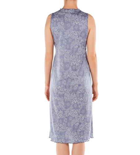 Calida Damen Nachthemd St.Yves Nightshirt Blue Granite