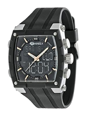 Marea 35205/2 - Reloj Caballero caucho Negro