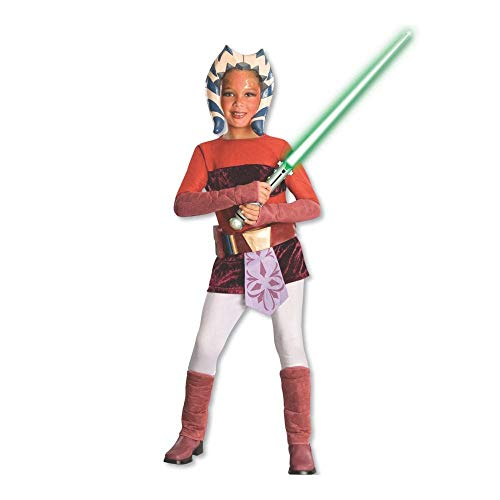 Star Wars Animated Deluxe Ahsoka Child Costume Medium (Kind Deluxe Ahsoka Kostüm)