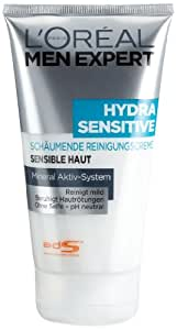 L'Oréal Paris Men Expert Hydro Sensitive Reinigungscreme, 6er Pack (6 x 150 ml)