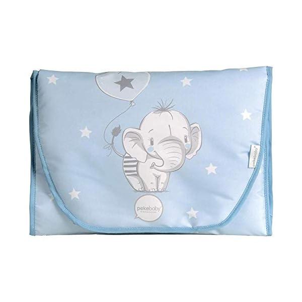 Pekebaby 10121149 45 A Dressing Room Pekebaby PEKEBABY bedroom Baby changing mats. Dress imperm elephant (10121149 45 a) 1